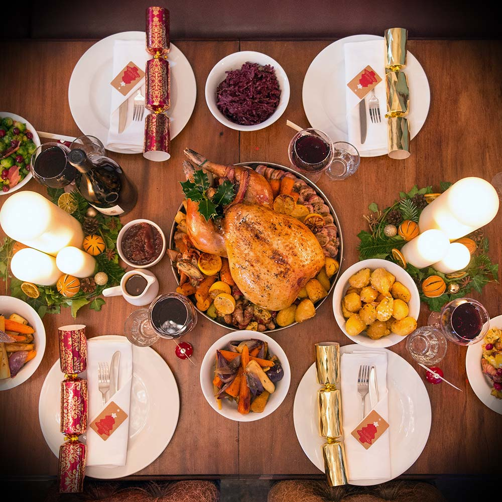 turkey-dinner-cracker-sprouts-christmas-event
